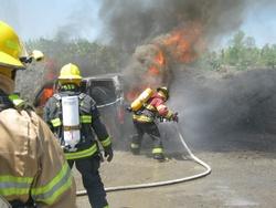 Galerie photos pompiers de Lambton en formation le 20 mai 2012