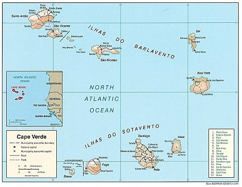 776px-Cape Verde Map
