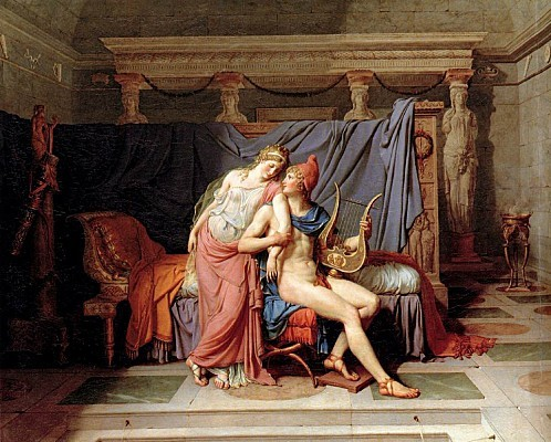 Jacques-Louis David - The Loves of Paris and Helen - WGA605