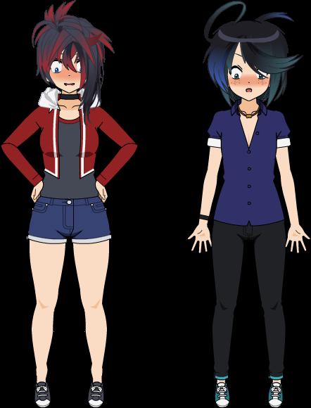 [Genderbend] Zaphire et Zephyr