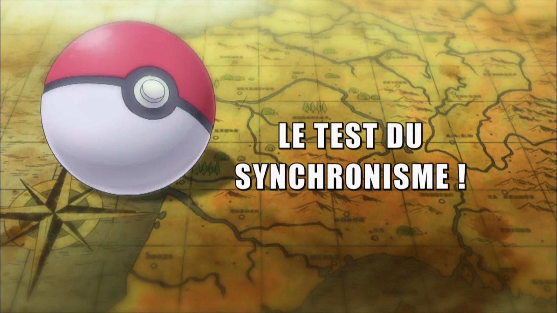 Pokémon - 19x23 - Le test du synchronisme !