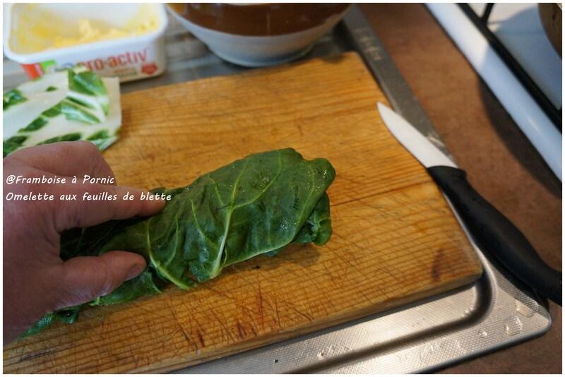 Omelette aux feuilles de blette