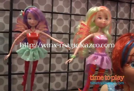 Musa et Stella Sirenix dolls