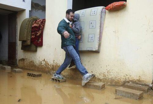 Hanna raconte la tempête Olga au Liban.