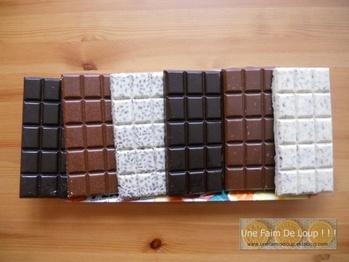 """Mes tablettes de chocolat """"Maison"""""""