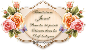 Récompense 50 points Janet 190916010425128807