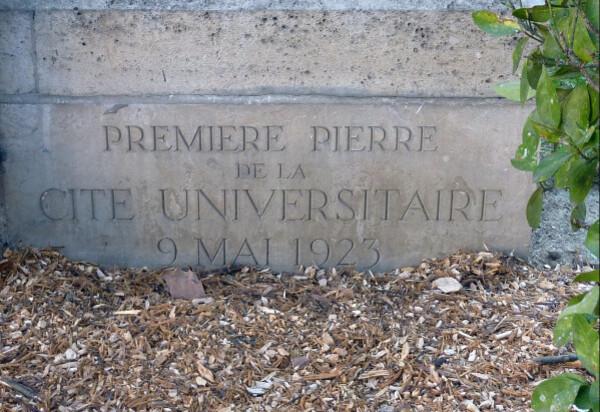 Fondation Deutsch de la Meurthe - Première pierre