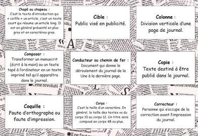 Projet 2017-2018 : les petits reporters