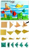 origami sea