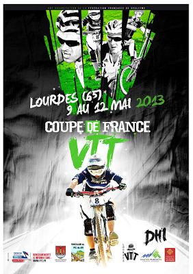 la Coupe de France de VTT de descente  du 9 au 12 mai.  au Pic du Jer lourdes