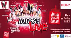 100% Radio - 100% LIVE TARBES 2013