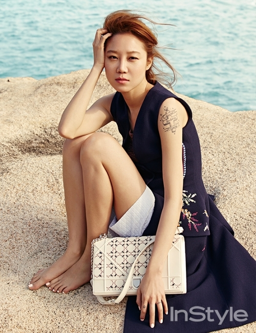 Gong Hyo Jin pour Instyle