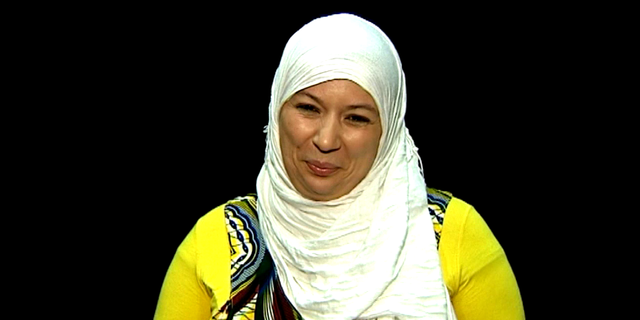 "Samia Orosemane dans son ""Message aux djihadiste""."