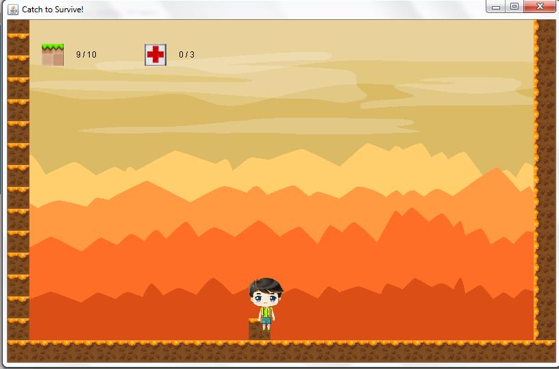 La première image de l'amélioration de mon premier jeu