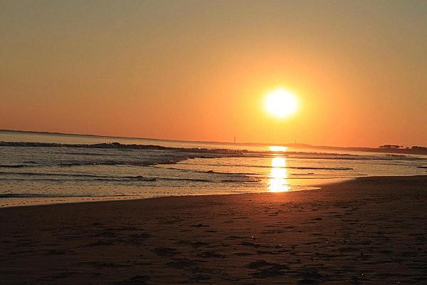 coucher de soleil sur Bonne Anse depuis la Grande Côte1