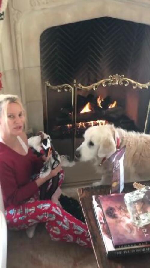 Le Noël de Nicollette et.....Oliver.