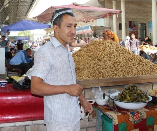 Le bazar de Marguilan (Ouzbékistan)