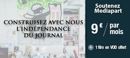 Offre spéciale pour l'indépendance de la presse ; 9€ par mois