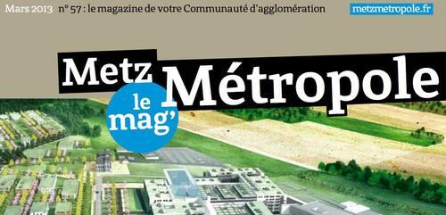 Metz Métropole - le mag' de mars 2013