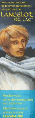 Spécimen Casterman Lancelot