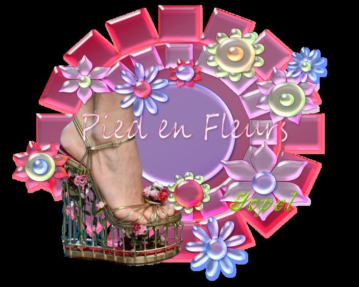 Pied en fleurs Manik par Jopel