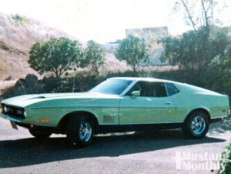 1971 / 1972 : FORD MUSTANG MACH 1