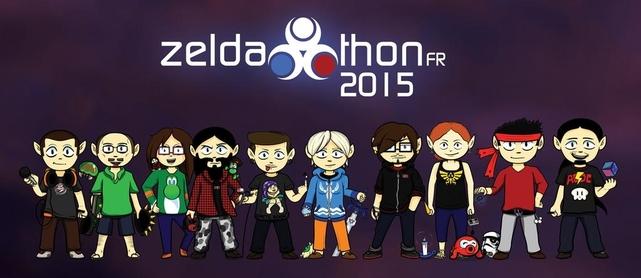 Logo Zeldathon FR 2015 - L'équipe du marathon !