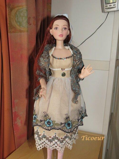 """Une robe """"haute couture"""""""