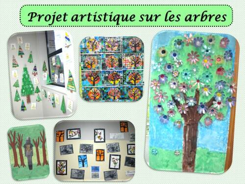 Projet artistique sur les arbres