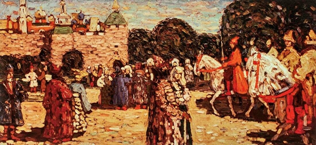 1.Kandinsky / une vocation tardive