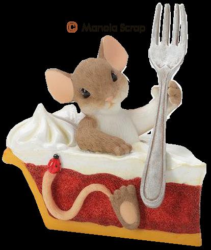Les petites souris dans la cuisine