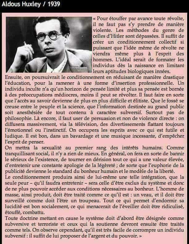 Aldous Huxley en 1939