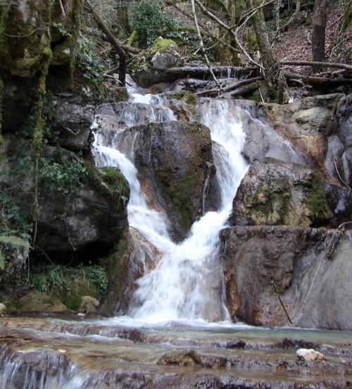 La cascade des Echanaux