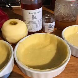 Tarte aux pommes des forets & sapins du Jur