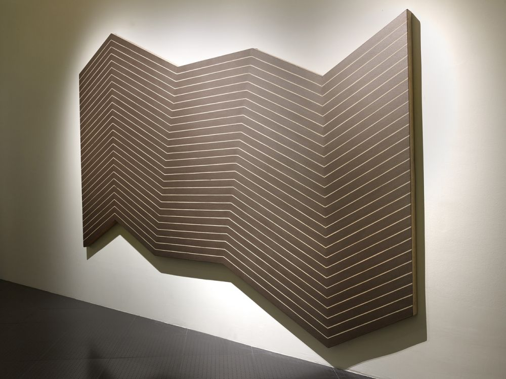Franck stella histoire de l 39 art for Oeuvre minimaliste