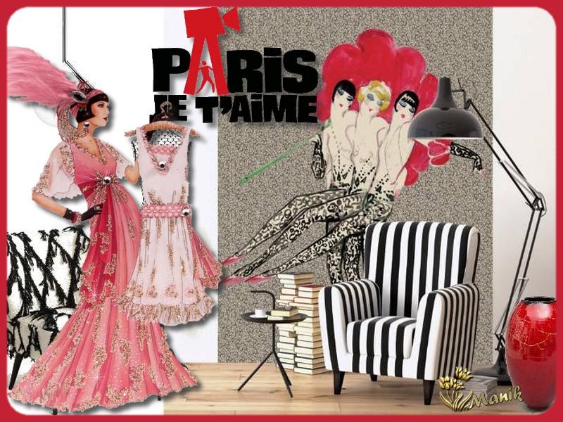 Défi Marjolaine Paris je t'aime !