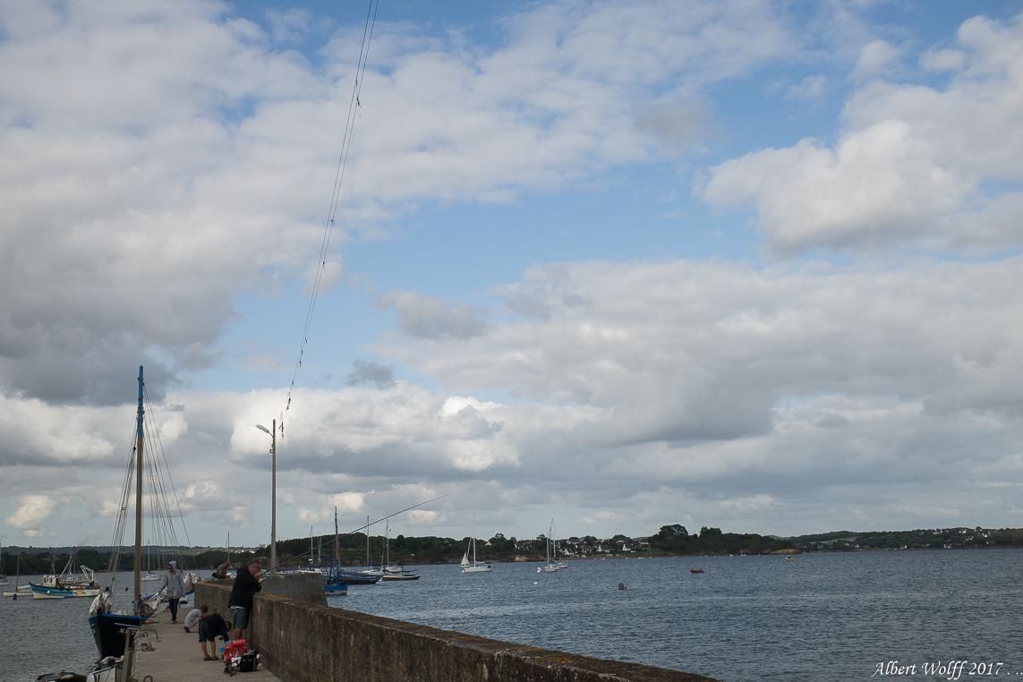 BZH 2017 - Port Tinduff et  la pêche en l'air...