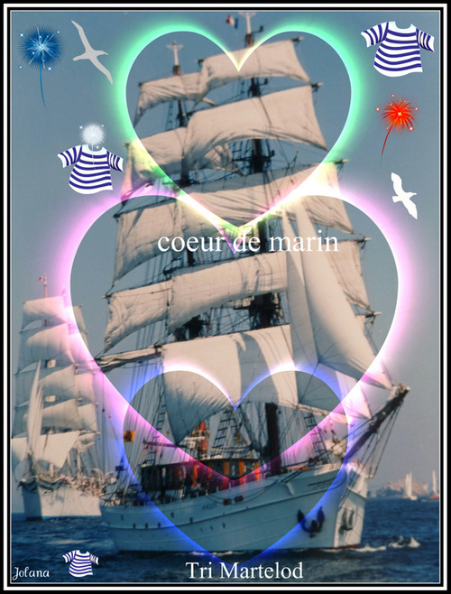 bateau grand voilier coeur rade