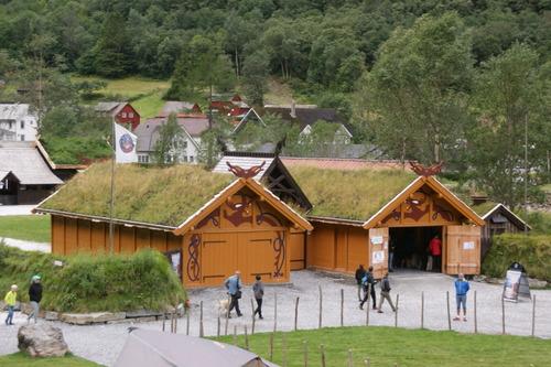 3ème jour.Bergen.Croisière sur le Sognefjord.Béito