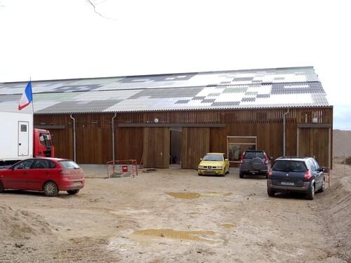Le nouveau centre équestre de la Barotte à Châtillon sur Seine...