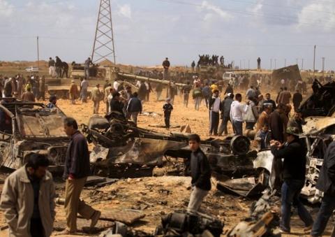 Main basse sur la Libye : après les bombes ... voici le FMI !