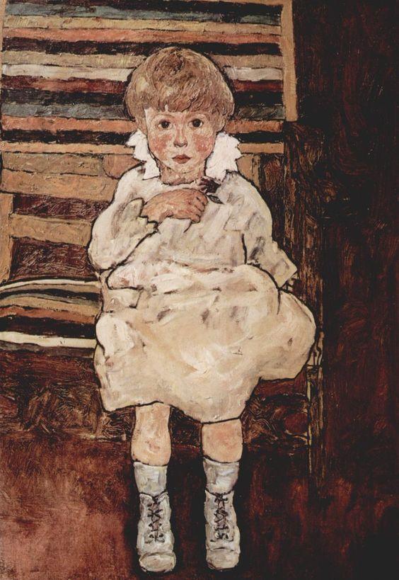Samedi - Un enfant Egon Schiele