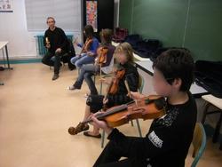 Initiation et découverte des musiques traditionnelles