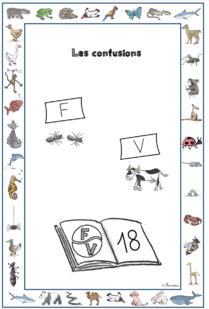 Lire - Confusions F et V