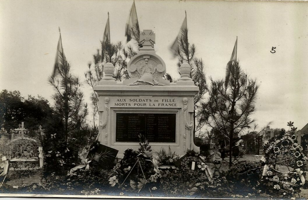 inauguration du monument aux morts : 11 Nov. 2020