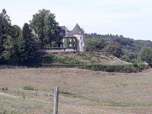 Un petit château au passage...