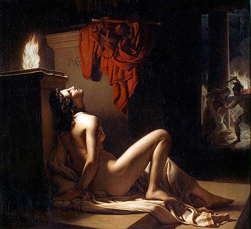 Peinture de Langlois