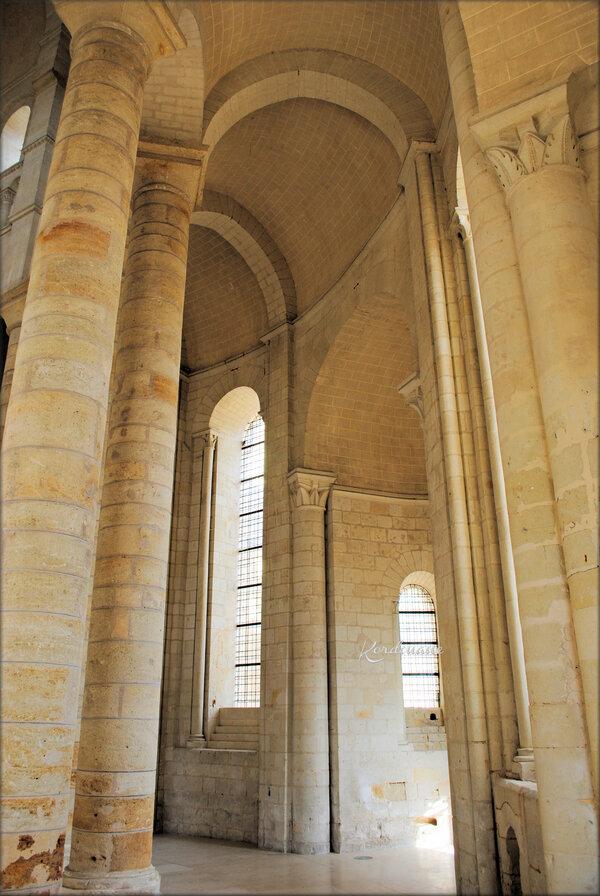 Photo du chœur de l'Abbaye Notre-Dame de Fontevraud