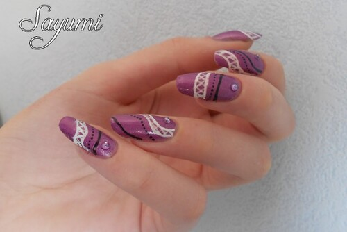 Nail Art Sexy Girl