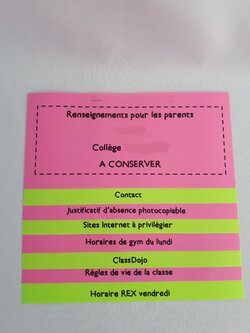 Flipbook pour les parents